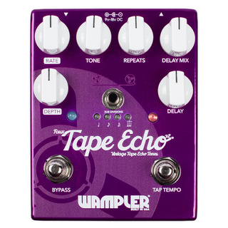 Wampler Faux Tape Echo Delay V2 - Pedal Delay Guitarra