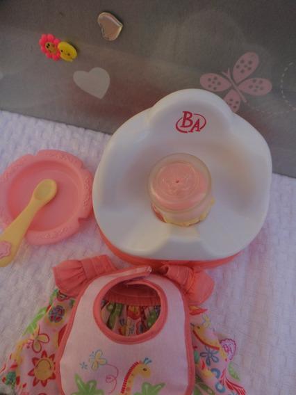 Acessórios Para Boneca Baby Alive Troninho Completa