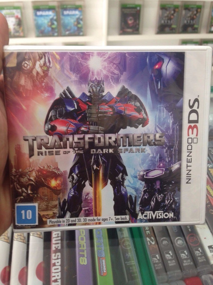 Transformers: Rise Of The Dark Spark - 3ds Novo & Original