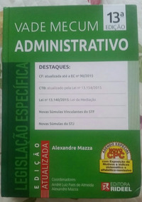 Vade Mecum Administrativo Rideel - 13a. Ed. 2015 Mazza
