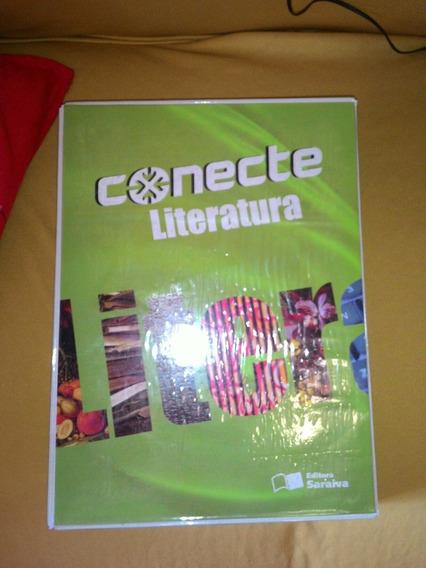 Coleção Conecte Da Editora Saraiva Literatura 2 Livros2cader