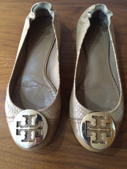 Zapatos Tory Burch Originales Usados Flats 7