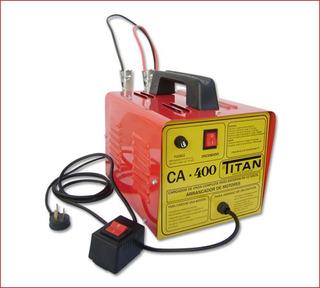 Cargador Arrancador De Baterias Titan Ca-400 C/arranque A Distancia Garantia 1 Año + Service