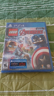 Lego Avengers Sellado Juego Playstation 4 Ps4