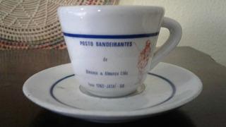 Xícara De Coleção - Posto Bandeirantes Jataí - Goiás