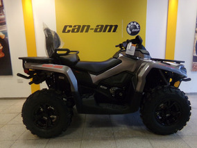 Cuatriciclo Can Am Outlander 570 Max Xt Gris 2017