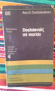 Dostoievski, Mi Marido - Ana G. Dostoiévskaia Envios Mdq C63