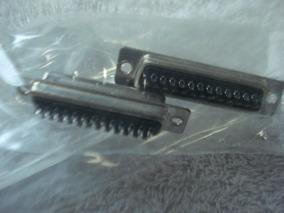 Plug De Encaixe Para Impressora Db25