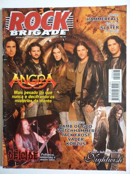 Revista Rock Brigade Ano 25 - N 243