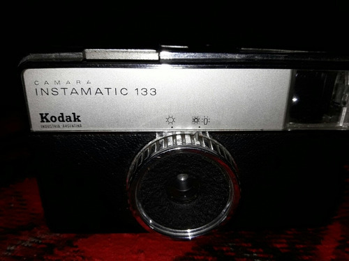 Cámara De Fotos Kodak Instamatic 133