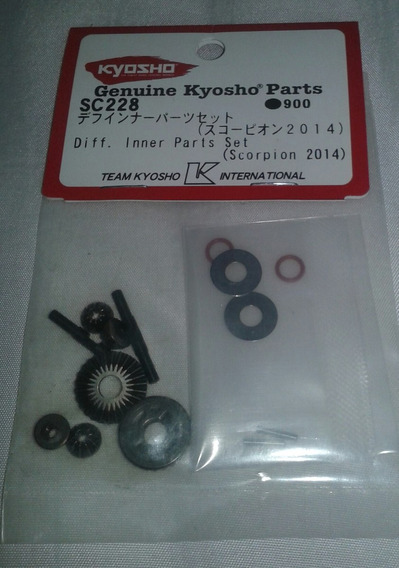 Diferenciais Diff Engrenagens Scorpion 1/10 Kyosho Sc228
