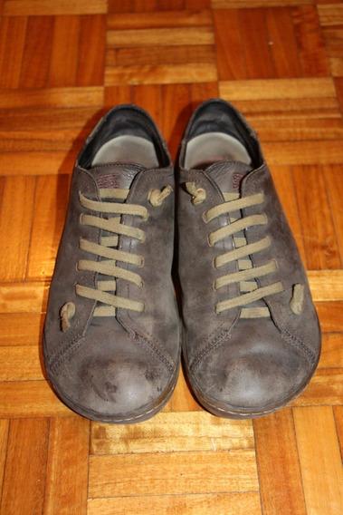 Zapatos Camper Shoes Peu Cami Marrones