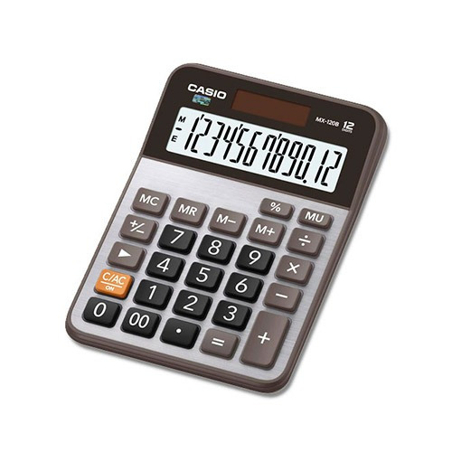 Calculadora De Escritorio Casio Mx-120b 12 Dig Pila/solar