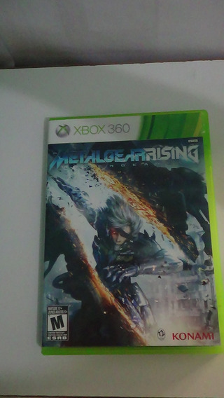 Metal Gear Rising Revengeance Xbox 360 Original