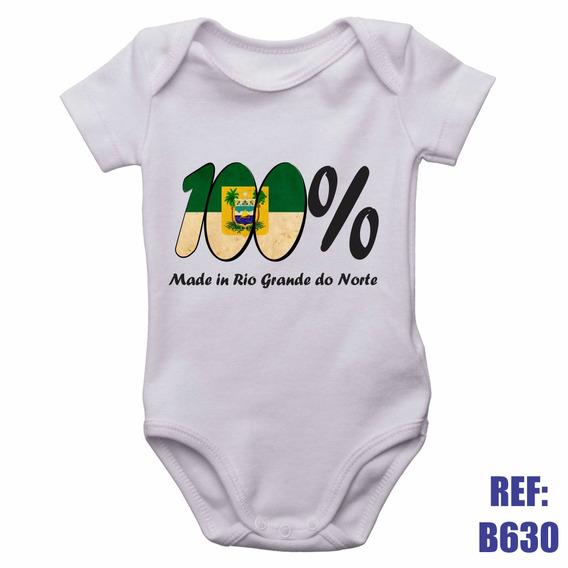 Body Infantil 100% Made In Rio Grande Do Norte Personalizado