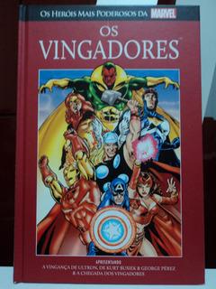 Hq:marvel-os Vingadores:capa Dura-a Vingança De Ultron