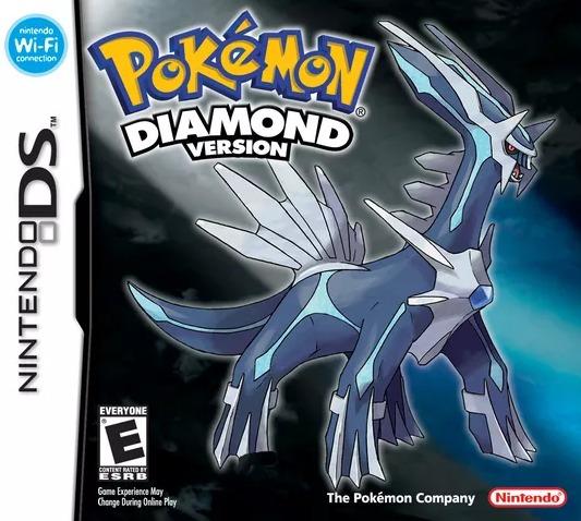 Pokemon Diamond Version - Ds / Dsi / 3dss - Impecável