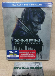 X-men Apocalypse Blu-ray Película Marvel Steelbook Stock