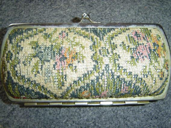 Monedero Clutch Gobelino Vintage