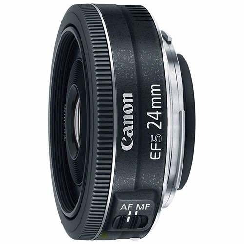 Lente Canon Ef-s 24mm F/2.8 Stm Wide Angle - Pronta Entrega.