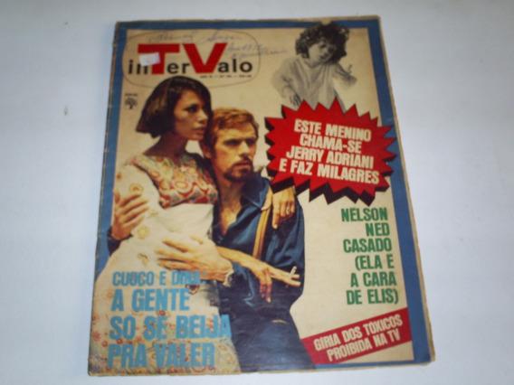 Revista Intervalo Nº 421 1971 Fracisco Cuoco E Dina Sfat