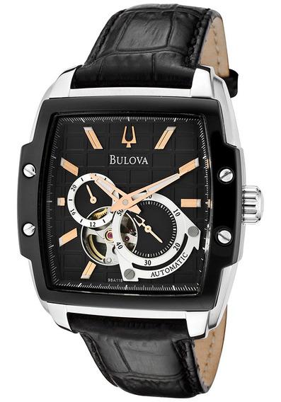 Relógio Bulova 98a118 21 Automatico 21 Jewels Aceito Trocas