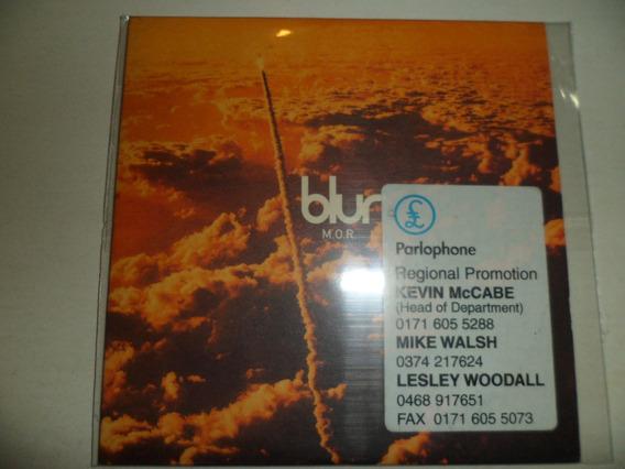 Blur Promo Cd - M.o.r Made In Uk