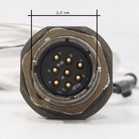 Amphenol Socapex Série 451, Conector Circular C/ 8 Pinos