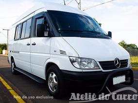 Mercedes Sprinter Cdi 313 2008 8 L. Equipada Ateliê Do Carro