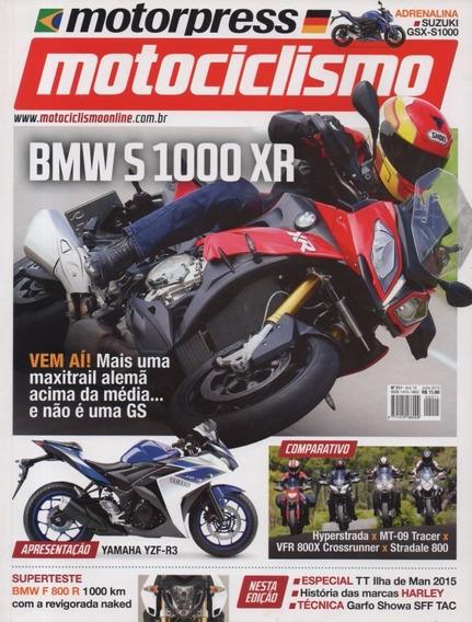 Motociclismo N°211 Bmw S1000xr Suzuki Gsx-s1000 Mt-09 Tracer