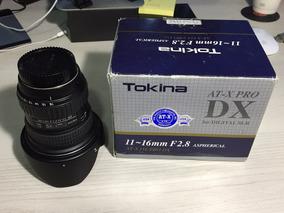 Lente Tokina 11 16mm 2.8 Para Nikon