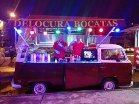 Vendo Kombi Food Truck Delocura Bocatas Negocio Muy Rentable