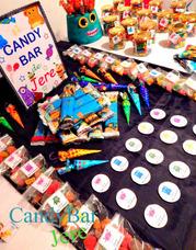 Candybar, Golosinas Personalizadas, Fiestas Temáticas P/20