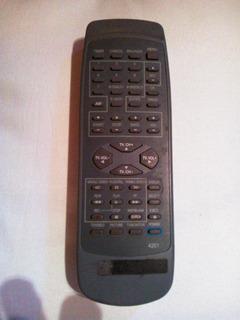 Control Remoto Tv / Vhs Original Codigo 4201