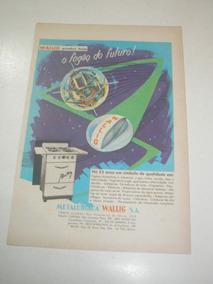 L 290/ Pps330 Propaganda Antiga Fogão Wallig