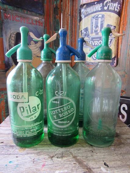 Sifon Verde Capuchon Plastico C/u