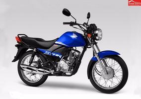 Moto Honda Cb1 Star Mod Cgx125whf 2017 Col Azul, Negro, Rojo
