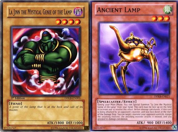 3 Playset 3X La Jinn The Mystical Genie Of The Lamp SKE-009 Yugioh Yu Gi Oh
