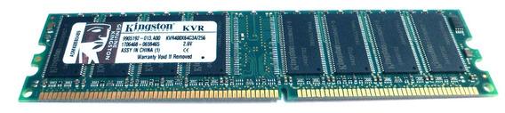 Memoria Ram Para Pc 256 Mb Ddr 400 Kingston (usado) , E2032