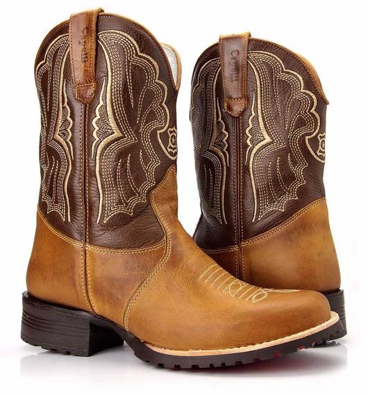 Bota Texana Feminina Country Montaria Western Capelli Boots