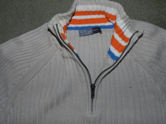 Sweater Pullover Zara Original Importado Algodon (leer)