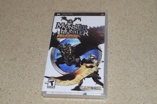Monster Hunter Freedom -juego -psp