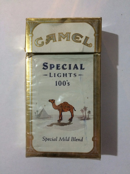 Marquillas Cigarrillos Importada Camel Special Lights Largos