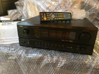 Amplificador Denon Avr-3801 Excelente Estado, 105w Por Canal