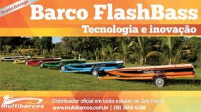 Barco De Alumínio Flashbass 500