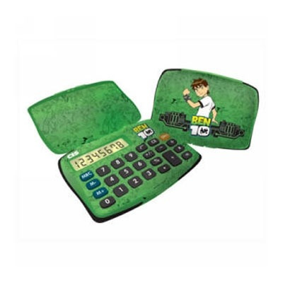 Calculadora Digital Infantil 8 Dígitos - Ben 10