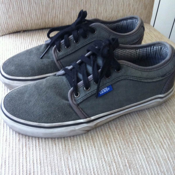 Zapatillas Vans Originales Importadas Color Gris 36,5