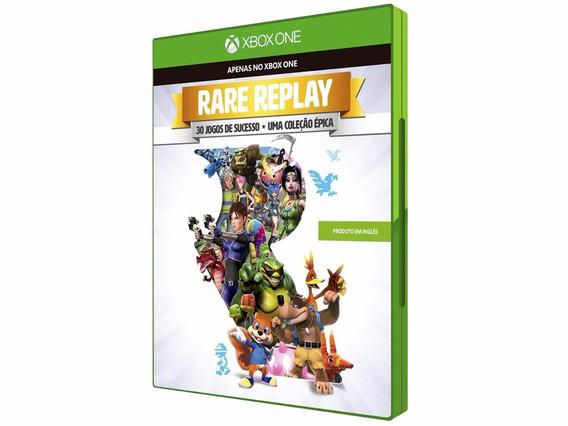 Jogo Mídia Física Rare Replay 30 Jogos De Sucesso Xbox One