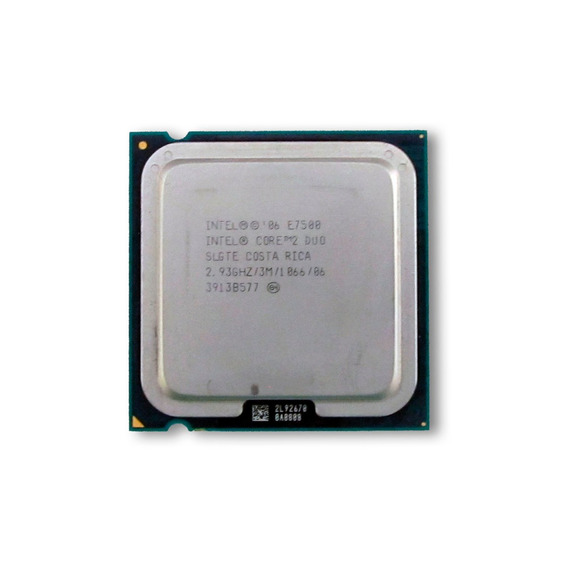 Intel Core 2 Duo E7500 + Cooler Intel Delta