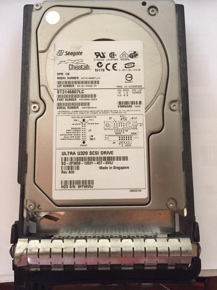 Hd Seagate 146gb 10k Scsi 3,5 Pn Dell: 0f3659
